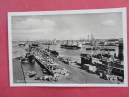 Rppc  Europe > Denmark   Kobenhaven  Dock Scenen-ref - 817 - Denmark