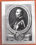 MALTA - KNIGHTS OF MALTA -  CLAUDE DE LA SANGLE  1557 - OLD PRINT BY EMPORIUM VALLETTA MALTA - - Prints & Engravings