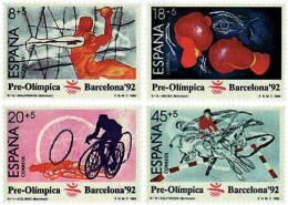 Ref. 85412 * NEW *  - SPAIN . 1989. GAMES OF THE XXV OLYMPIAD. BARCELONA 1992. 25 JUEGOS OLIMPICOS VERANO BARCELONA 1992 - 1981-90 Nuevos & Fijasellos