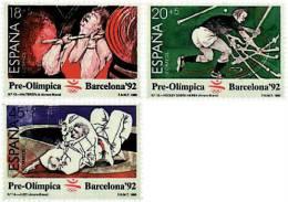 Ref. 85647 * NEW *  - SPAIN . 1990. GAMES OF THE XXV OLYMPIAD. BARCELONA 1992. 25 JUEGOS OLIMPICOS VERANO BARCELONA 1992 - 1981-90 Nuevos & Fijasellos