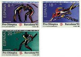 Ref. 85851 * NEW *  - SPAIN . 1990. GAMES OF THE XXV OLYMPIAD. BARCELONA 1992. 25 JUEGOS OLIMPICOS VERANO BARCELONA 1992 - 1981-90 Nuevos & Fijasellos