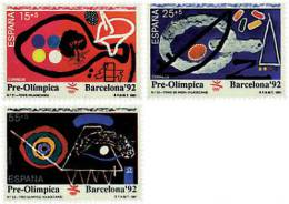Ref. 85871 * NEW *  - SPAIN . 1991. GAMES OF THE XXV OLYMPIAD. BARCELONA 1992. 25 JUEGOS OLIMPICOS VERANO BARCELONA 1992 - 1931-Today: 2nd Rep - ... Juan Carlos I