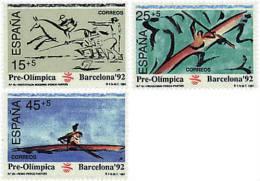 Ref. 85650 * NEW *  - SPAIN . 1991. GAMES OF THE XXV OLYMPIAD. BARCELONA 1992. 25 JUEGOS OLIMPICOS VERANO BARCELONA 1992 - 1991-00 Nuevos & Fijasellos