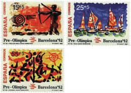 Ref. 85435 * NEW *  - SPAIN . 1992. GAMES OF THE XXV OLYMPIAD. BARCELONA 1992. 25 JUEGOS OLIMPICOS VERANO BARCELONA 1992 - 1991-00 Nuevos & Fijasellos