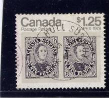 CANADA, 1978, USED  # 756, CAPEX 78: STAMP OVER STAMP PRINCE ALBERT   USED - 1952-.... Règne D'Elizabeth II