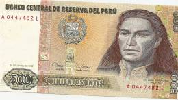 M-BANCONOTA 5001987 TUPAC AMARU II - Perù