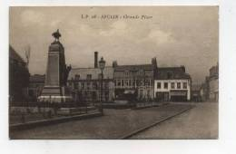 CPA 59  : SECLIN  Grand Place Et Monument     A   VOIR  !!!! - Seclin