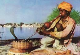 Snake Charmer, India, Unused - MTC300 - India