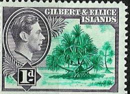 GILBERT & ELLICE ISLANDS..1939..Michel # 39...MH. - Gilbert & Ellice Islands (...-1979)