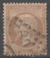 Napoléon III  N° 21b (Variété, Filet De Gauche Absent) Avec Oblitération Losange 1686  TB - 1862 Napoleon III