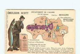 Br - 03 - Carte Géographique - Emulsion Scott - - France