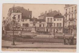 Saint-Etienne - Ensemble Du Monument Jeanne D´Arc - Saint Etienne