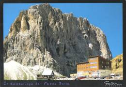 Il Passo Sella, Dolomiti, The Dolomites, Italy Unused - Hunter ND1-10.551 - Italy