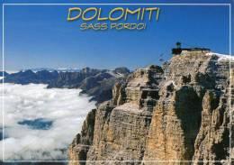 Dolomiti, The Dolomites, Sass Pordoi, Italy Unused - Ghedina DL 39.23 - Italy
