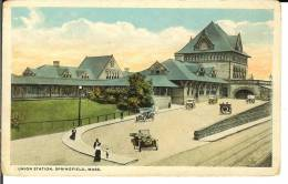 CPA  UNION STATION, SPRINGFIELD  7530 - Springfield