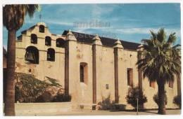 SAN GABRIEL CA ~ MISSION BUILDING FRONT VIEW ~c1960s Vintage Postcard ~CHURCH  [c3430] - Missions