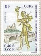 YT3397 FRANCE 2001 Neuf 74e Congrès De La Fédération Française Des Associations Philatéliques - Francia