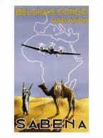 @@@ MAGNET - Sabena, Belgique-Congo, C.1930 - Publicitaires