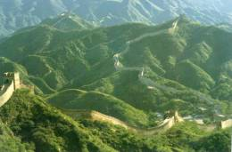 Summer Scene Of The Great Wall, China Travel & Tourism Unused - China