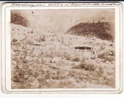 Valle D'Aosta - Courmayeur -Monte Bianco - Fotografia 1897 -   Chalet Del Ghiacciaio  Della Brenva - Aosta