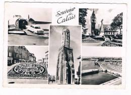 *2299*   CALAIS : Multiview With Freight-airplane - Calais