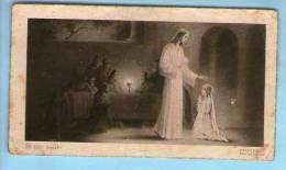 Image Pieuse Religieuse Holy Card - Ed AR 8066- Souvenir Communion C & C Braun Notre Dame Du Perpétuel Secours Asnières - Santini