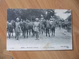 CPA Z  Militaire 14/18...MULETIERS INDIENS  E.L.D - Regiments
