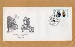 Enveloppe Brief Cover 2007 Montigny Vincennes Europa Montigny-le-Tilleul - Briefe U. Dokumente