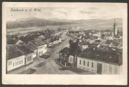 Edelbach An Der Wild, Gesamtansicht Mit Postablagestempel *EDELBACH, P. GÖPFRITZ A.d. WILD*, Etwa 1926 Nach Wien - Österreich
