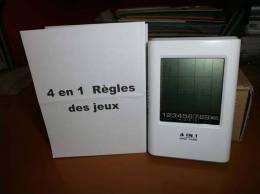JEU ELECTRONIQUE DE POCHE - 4 En 1 - SUDOKU - MASTER MIND - DIGIT BRICK - INSTANT MEMORY - Jeux électroniques