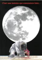 Carte Postale HERMANN Pour Lune De Guerre 2000 - Postcards