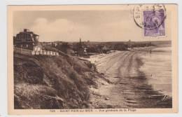 SAINT PAIR SUR MER - N° 723 - VUE GENERALE DE LA PLAGE - Saint Pair Sur Mer