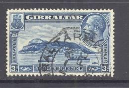 GIBRALTAR, 1931-33 3d (P13.5x14) Fine Used, Cat £40 - Gibraltar