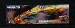 "Penrhyn - Mi.Nr. 439 - 440 ""Komet Halley"" ** / MNH - Penrhyn"
