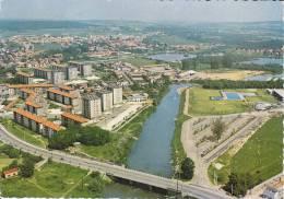 CPSM SOCHAUX  DOUBS LES BORDS DE L ALLAN CITE - Sochaux