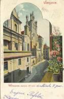 VARSOVIE  -  Carte Lithographie - Polen