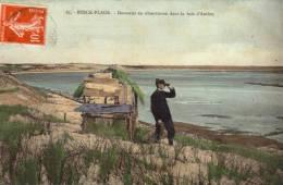 62 Berck Plage. Douanier Dans La Baie D'Authie - Berck