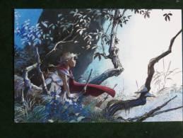 CARTE Postale LOISEL - LUEUR -  N° 136 - Janvier 2001 -  Editions GRANIT -  Carte NEUVE En Parfait état - Bandes Dessinées