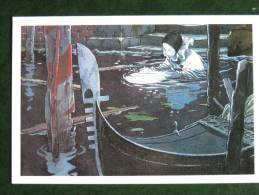 CARTE Postale LOISEL - VENISE -  N° 12 - Octobre 1995 -  Editions GRANIT -  Carte NEUVE En Parfait état - Bandes Dessinées