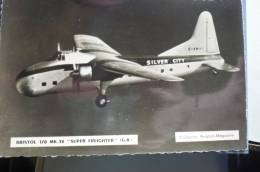 SILVER CITY   BRISTOL FREIGHTER   G AMWA - 1946-....: Moderne
