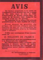 LOIRE ATLANTIQUE - NANTES - OCCUPATION - AVIS - BEKANNTMACHUNG - ASSASSINAT DU FELDKOMMANDANT HOTZ - GUY MOQUET - 1941 - 1939-45