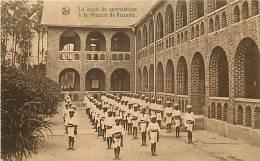 Afrique - Africa - Congo -ref A422- La Lecon De Gymnastique A La Mission De Kissantu - Edit Nels -carte Bon Etat - - Congo Belge - Autres