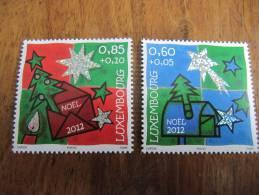 5645 Noel Sapin Cadeau Star étoile Timbre En Relief Hologramme Christmas - Hologrammes