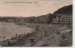 DOUGLAS - QUEENS PROMENADE AND BEACH - Isle Of Man