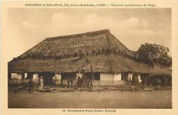 Afrique - Africa -ref A464- Missions Africaines -vicariat Apostolique Du Togo - Case A Sokodé   -carte Bon Etat - - Togo