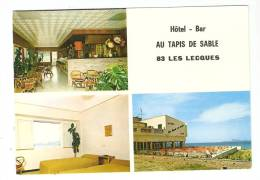 """CSM: 83 - Var : Saint Cyr Les Lecques : Hôtel Bar : """" Au Tapis De Sable """" - Saint-Cyr-sur-Mer"""