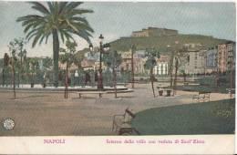 PRIMI 900 NAPOLI - INTERNO DELLA VILLA CON VEDUTA DI SANT'ELMO - Napoli