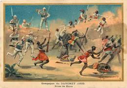 Afrique - Africa - Dahomey -ref A408-dessin Illustrateur G Germain - Campagne Du Dahomey -1893- Prise De Kana   - - Dahomey