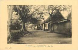 Afrique - Africa - Dahomey -ref A404- Porto Novo - Carte Bon Etat  - - Dahomey