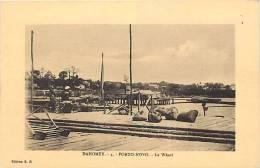 Afrique - Africa - Dahomey -ref A402- Porto Novo - Le Wharf  - Carte Bon Etat  - - Dahomey